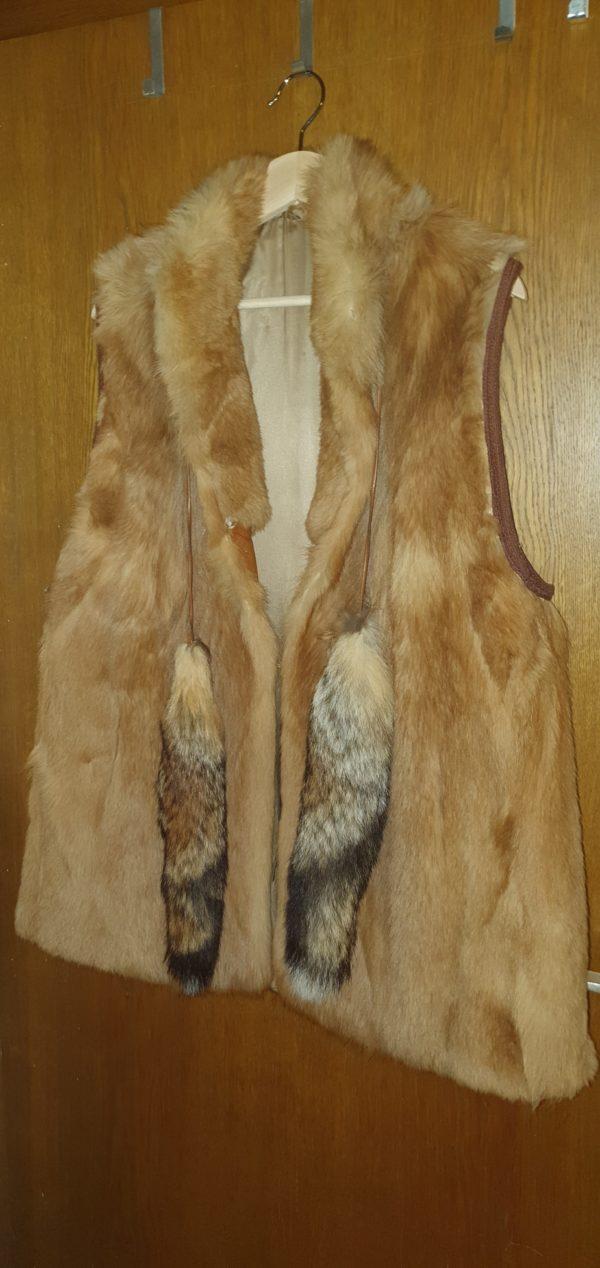 Fuchsjacke ärmellos - Gr. L-XL - 0