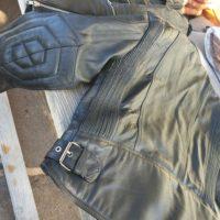 Motorrad Leder Jacke - 3