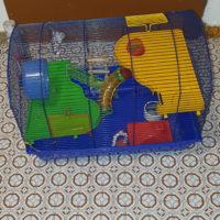 Großer Hamsterkäfig mit sämtlichen Zubehör - 0