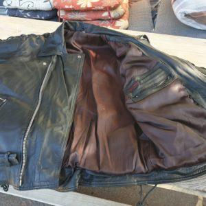 Motorrad Leder Jacke - 0