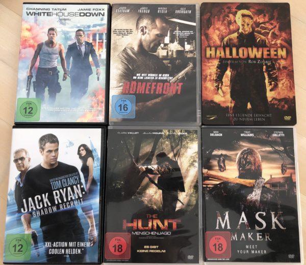Diverse Action & Horror DVDs (6x) - 0
