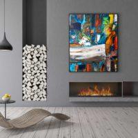 Acryl painting 120x100 - 3