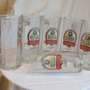 Huber Bräu Bier Glas - 0