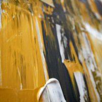 XXL Acryl Bild / Senf 150x100 - 0
